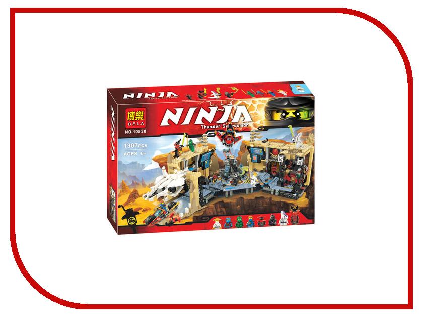 Конструктор BELA Ninja 10530 Самурай Х: Битва в пещерах 755pcs bela 10325 ninja db x nya pythor kai masters of spinjitzu ninja building block toys compatible with lego