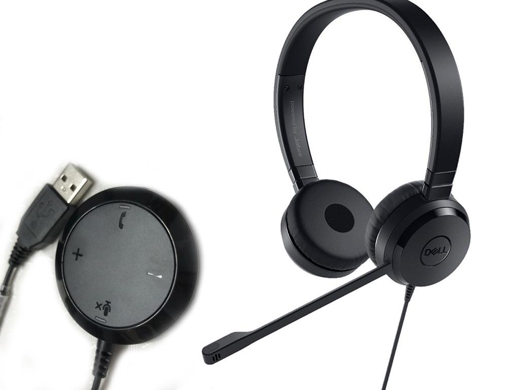 Наушники Dell Pro Stereo Headset UC350 520-AAMC