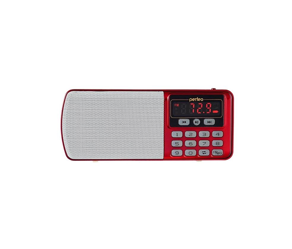 Радиоприемник Perfeo Егерь FM+ i120 Red