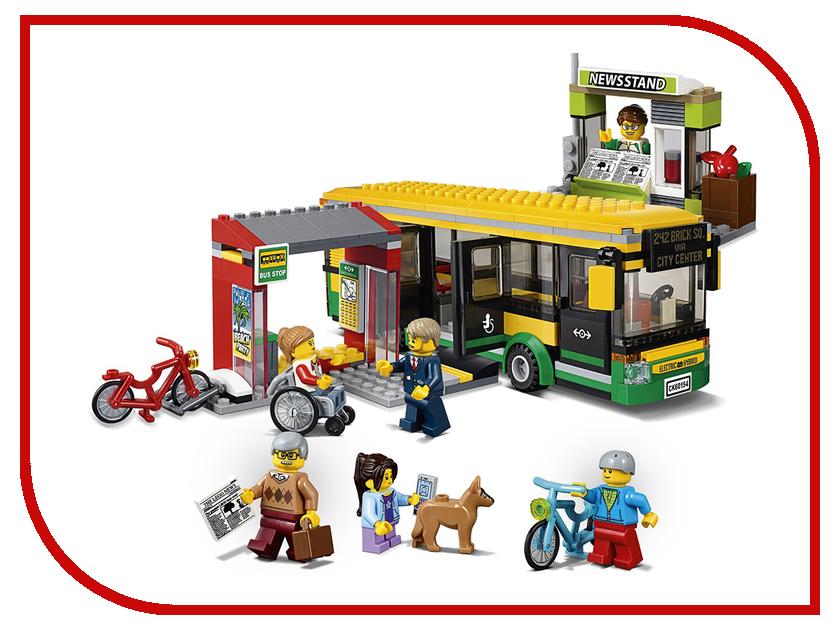 Конструктор Lepin Автобусная остановка 377 дет. 02078 конструктор lepin star plan истребитель набу 187 дет 05060