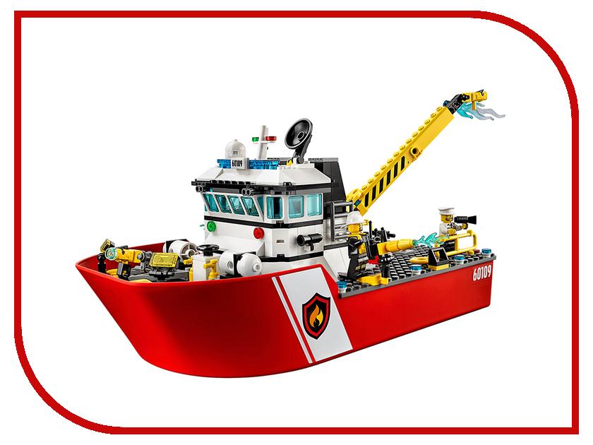 Конструктор Lepin Пожарный катер 461 дет. 02057 конструктор lepin cities рыболовный катер 159 дет 02028