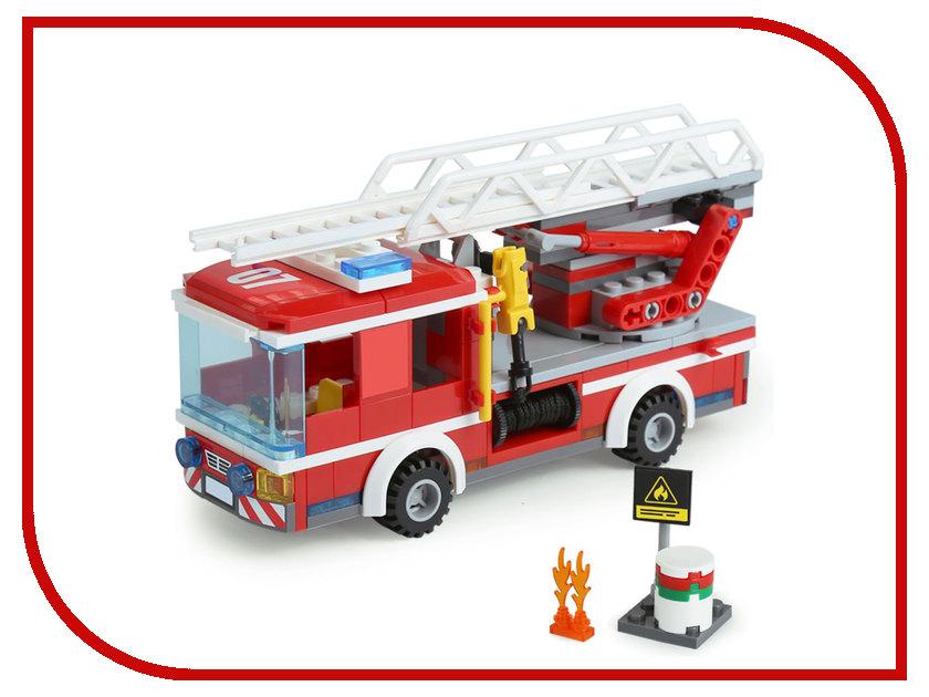 Конструктор Lepin Пожарный автомобиль с лестницей 239 дет. 02054 lego city 60107 пожарный автомобиль с лестницей