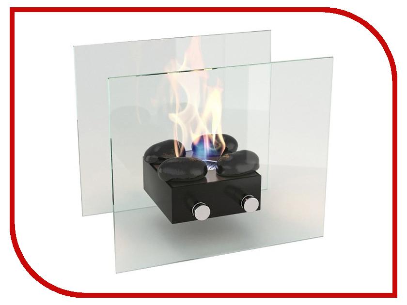 Биокамин Lux Fire Лондон M Black КН-0016-02 биокамин напольный классика в москве недорого