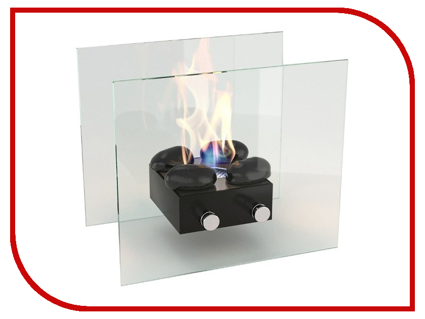 Биокамин Lux Fire Лондон M Black КН-0016-02