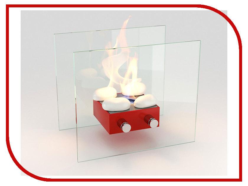 Биокамин Lux Fire Токио M Red КН-0016-03 биокамин напольный классика в москве недорого