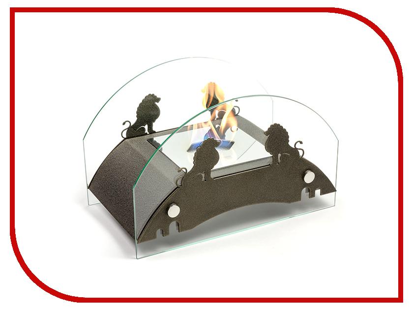 Биокамин Lux Fire Царский мост M Bronze КН-0017М-04 Бр