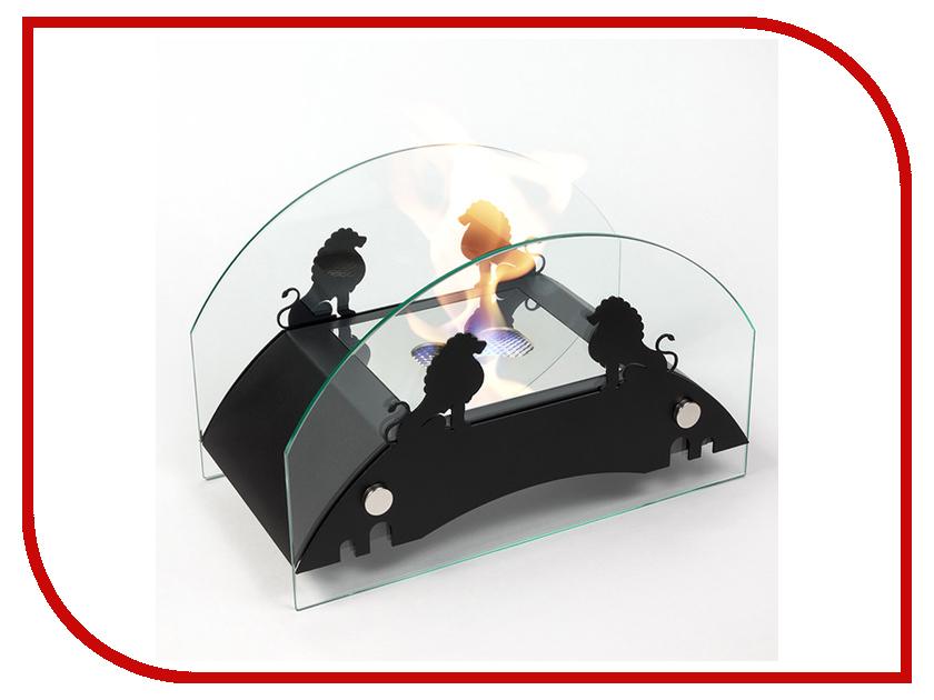Биокамин Lux Fire Царский мост M Black КН-0017М-04 Ч