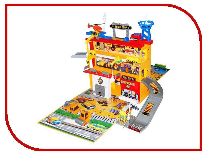 Автотрек Play Smart Стройплощадка C326-H06021 play smart металлич инерц машина автопарк play smart м1 50 box 12x5 7x6 8 см арт 6402b а74784