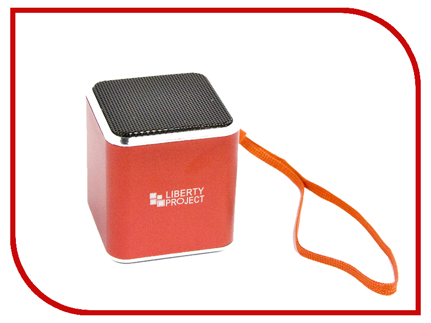 Колонка Liberty Project M1 Red CD125007