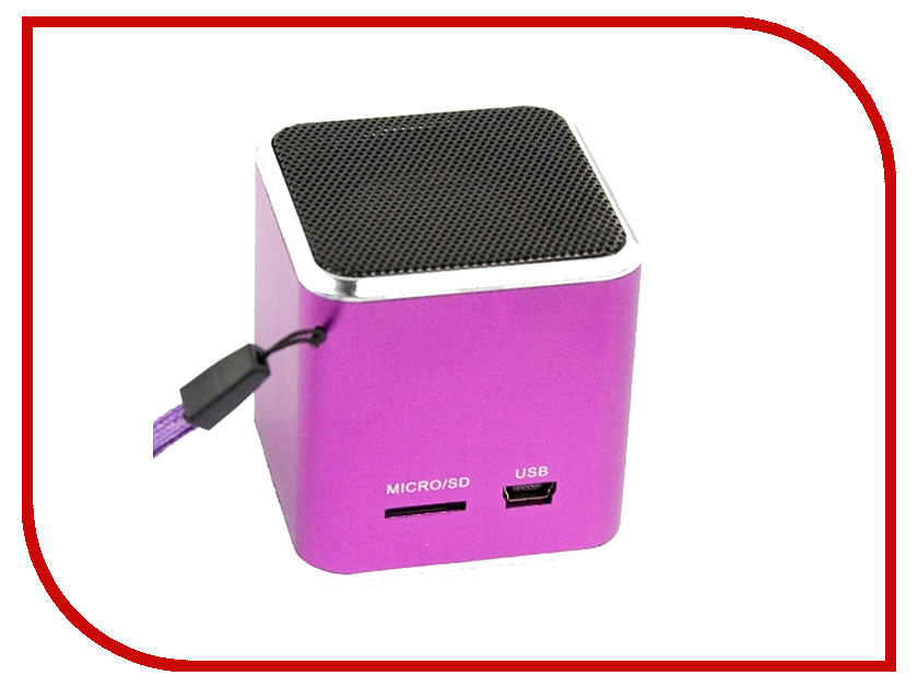 Колонка Liberty Project M1 Pink CD125006