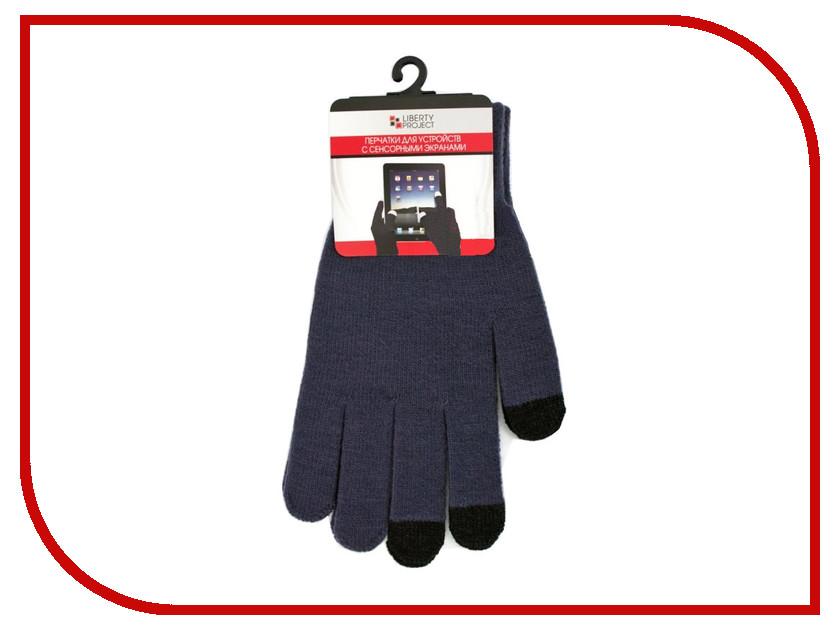 Теплые перчатки для сенсорных дисплеев Liberty Project M Dark Grey CD125828 теплые перчатки для сенсорных дисплеев red line р m l black white finger ут000014056