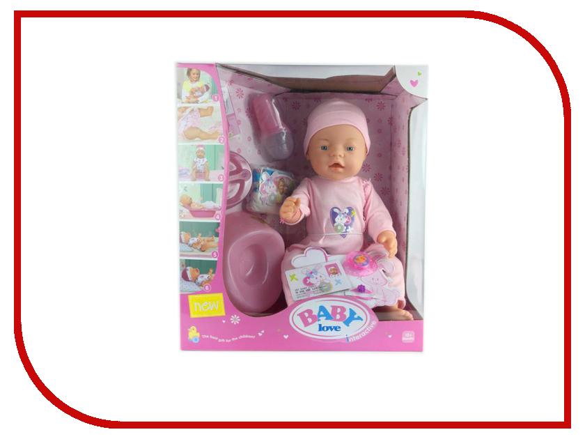 Кукла Baby love 1607O208 baby шоколадка