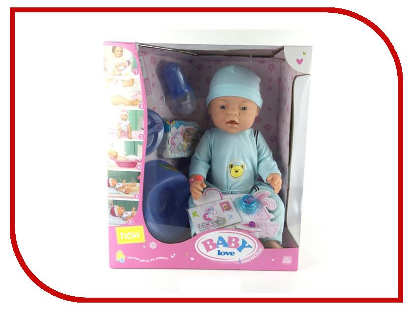 Кукла Baby love 1607O210 baby шоколадка