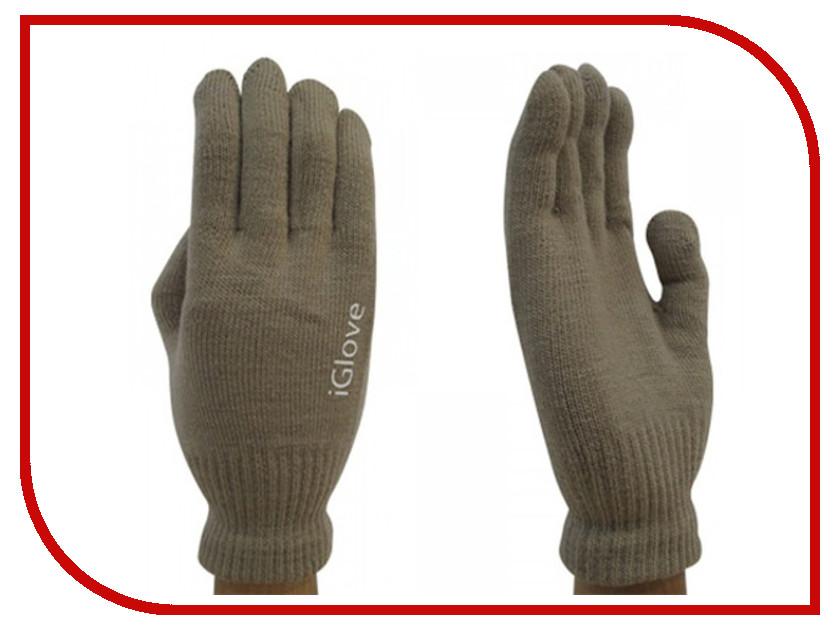 Теплые перчатки для сенсорных дисплеев iGlove M Coffee 0L-00034663 теплые перчатки для сенсорных дисплеев red line р m l black white finger ут000014056