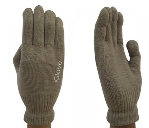 Теплые перчатки для сенсорных дисплеев iGlove M Coffee 0L-00034663