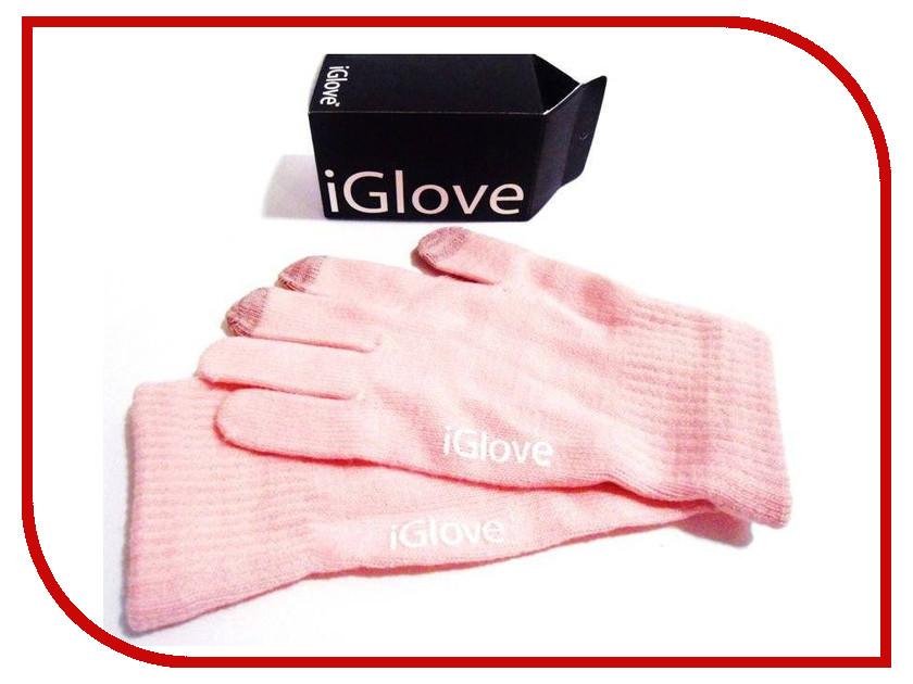 Теплые перчатки для сенсорных дисплеев iGlove M Pink R0001015