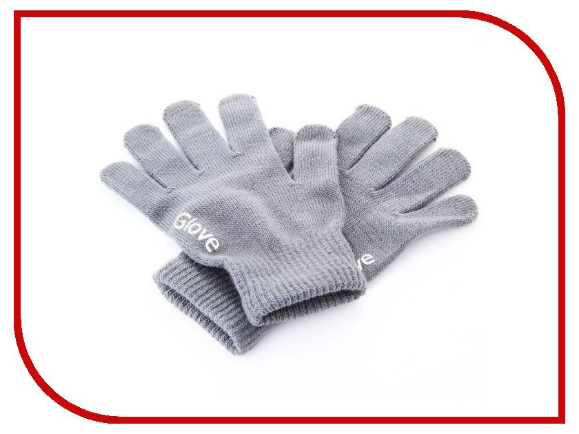 все цены на Теплые перчатки для сенсорных дисплеев iGlove M Light-Grey 0L-00034662 онлайн