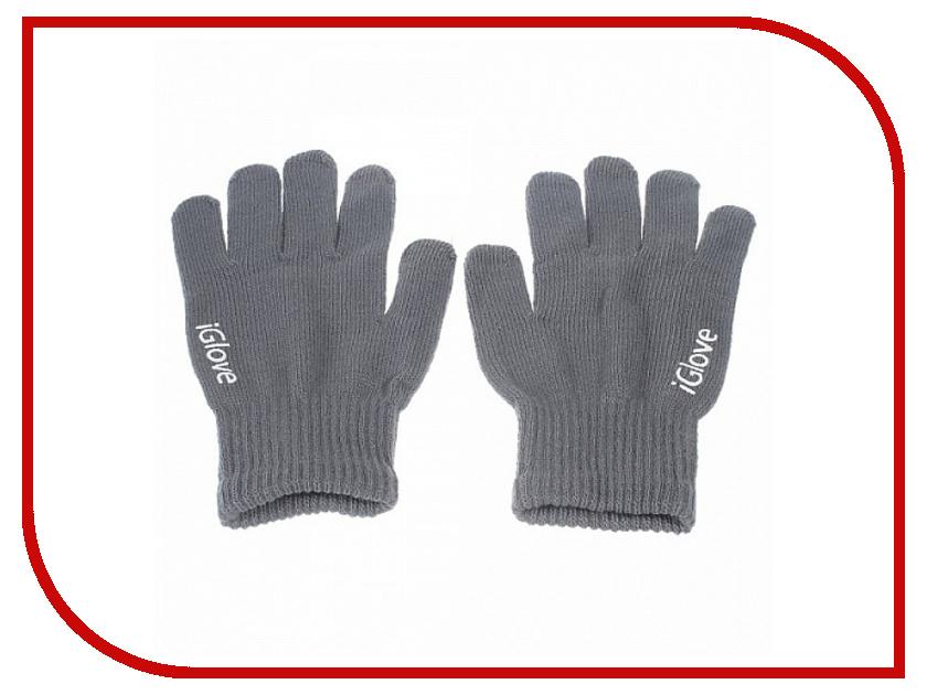 Теплые перчатки для сенсорных дисплеев iGlove M Grey 0L-00034657