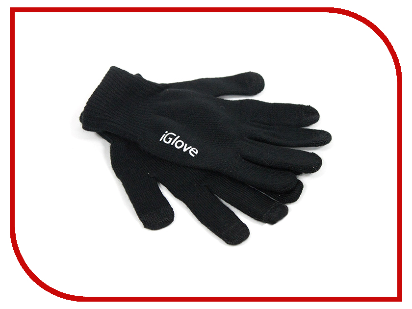 Теплые перчатки для сенсорных дисплеев iGlove M Black R0001014 теплые перчатки для сенсорных дисплеев cbr human friends fiver fd383 р uni black
