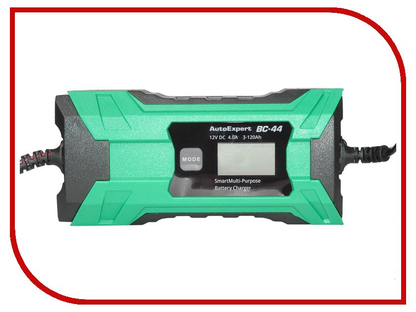 Устройство AutoExpert BC-44 autoexpert bc 65 green зарядное устройство для автомобильных акб