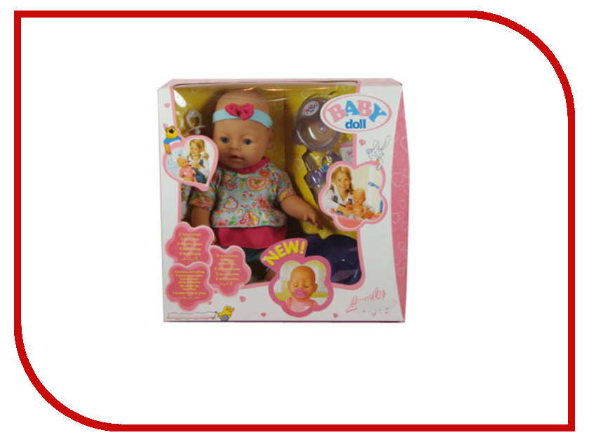 Кукла Baby Doll с аксессуарами B553177 кукла big john love doll