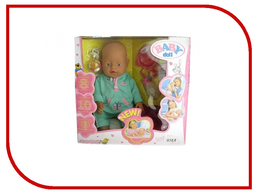 Кукла Baby Doll с аксессуарами B1033937 кукла big john love doll