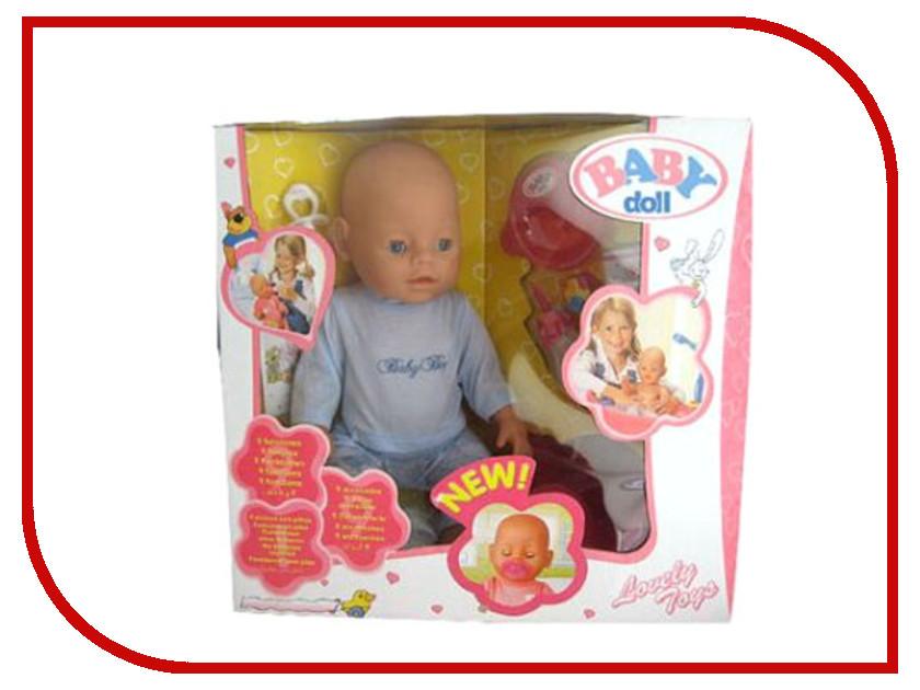 Кукла Baby Doll с аксессуарами B689657 npkcollection 55cm full silicone body reborn baby doll toy realistic newborn boy babies doll lifelike birt hday gift for girls