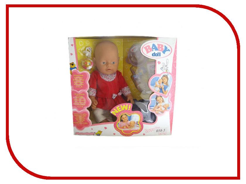 Кукла Baby Doll с аксессуарами B1406473 кукла big john love doll