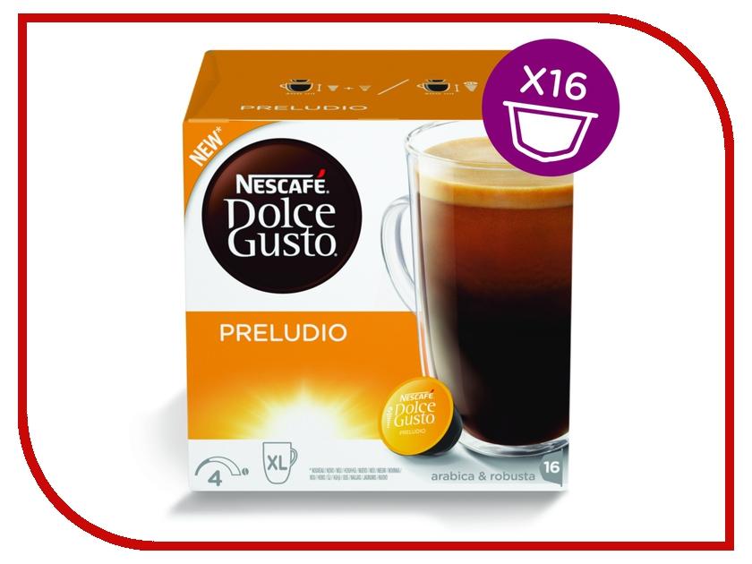 Капсулы Nescafe Dolce Gusto Preludio 16шт 12314472 nescafe кофе nescafe gold растворимый 150г