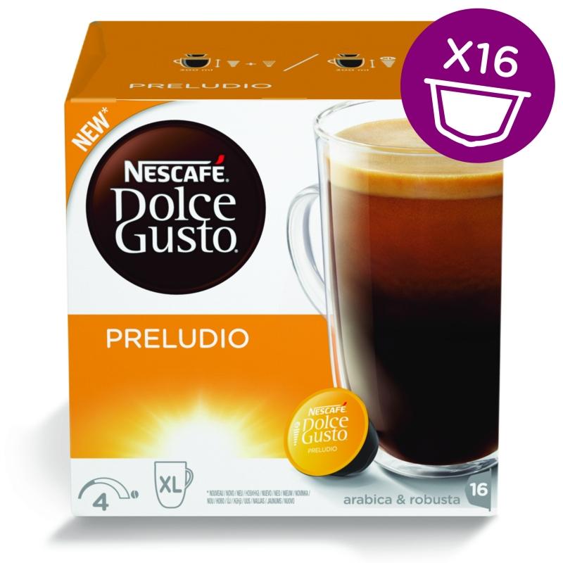 Капсулы Nescafe Dolce Gusto Preludio 16шт 12314472 капсулы nescafe dolce gusto cortado 16шт 12121894