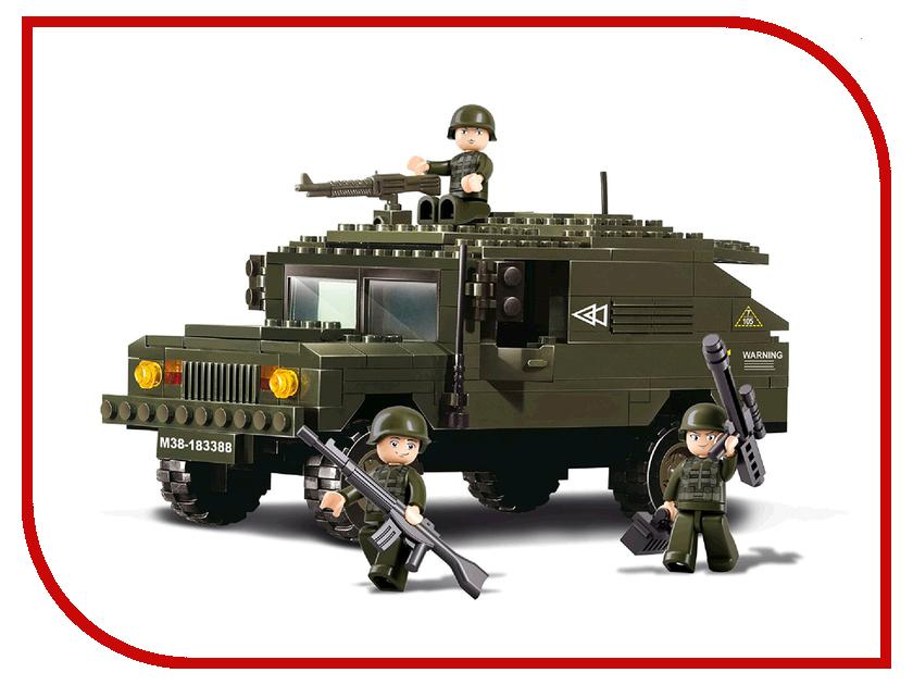 Конструктор Sluban Военная техника 191 дет. M38-B9900 набор раций военная операция 612368