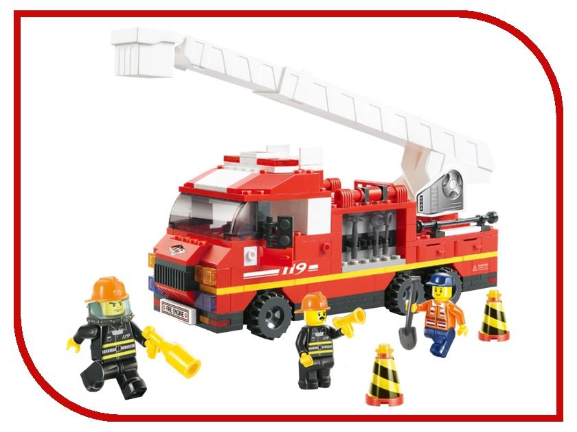 Конструктор Sluban Пожарные спасатели 270 дет. M38-B0221R конструктор забияка спасатели станция 796 дет 1035391