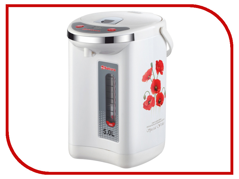 Термопот Sakura SA-315WM White термопот sakura sa 334rs steel red page 2