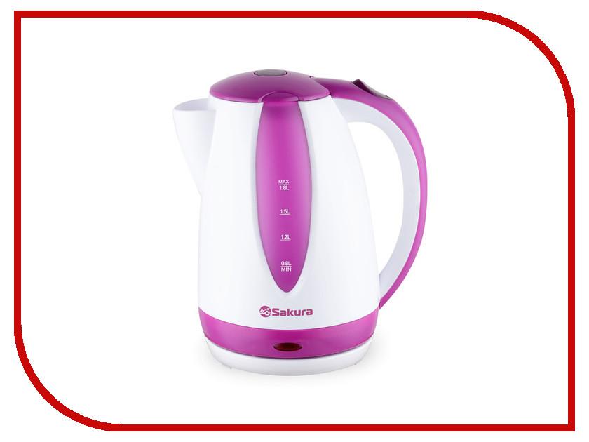 Чайник Sakura SA-2311P кофеварка sakura sa 6107bk