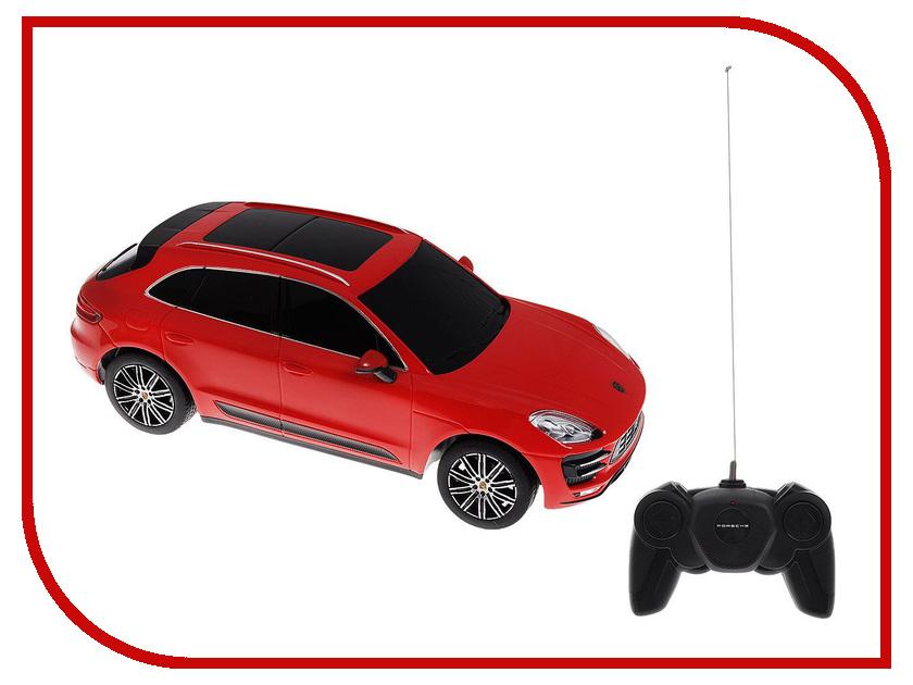 Игрушка Rastar Porsche Macan Turbo 1:24 71800 машина детская rastar rastar радиоуправляемые машинки porsche cayenne turbo 1 24 в ассортименте