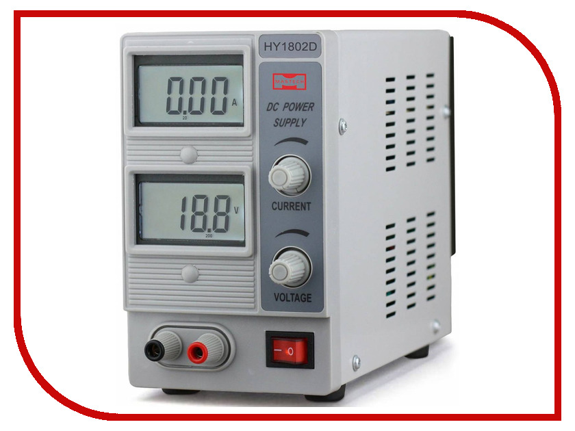 Блок питания Mastech HY1802D mastech ms6252a handheld lcd digital electronic wind speed meter