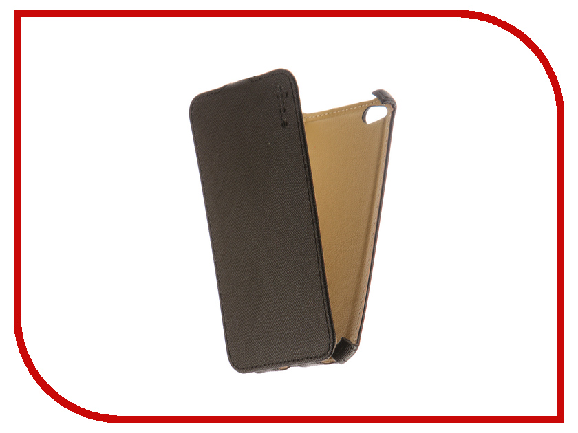 Аксессуар Чехол Xiaomi Redmi 4A Snoogy иск. кожа Black SN-Xia-4A-BLK-LTH аксессуар чехол snoogy иск кожа black для apple iphone 6 6s sn iph 6 6s blk lth