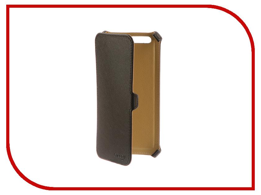 Аксессуар Чехол для Huawei Honor 9 Snoogy иск. кожа Black SN-HHb-9-BLK-LTH аксессуар чехол snoogy для apple ipad mini 2 иск кожа brown sn ipad mini2 brn lth