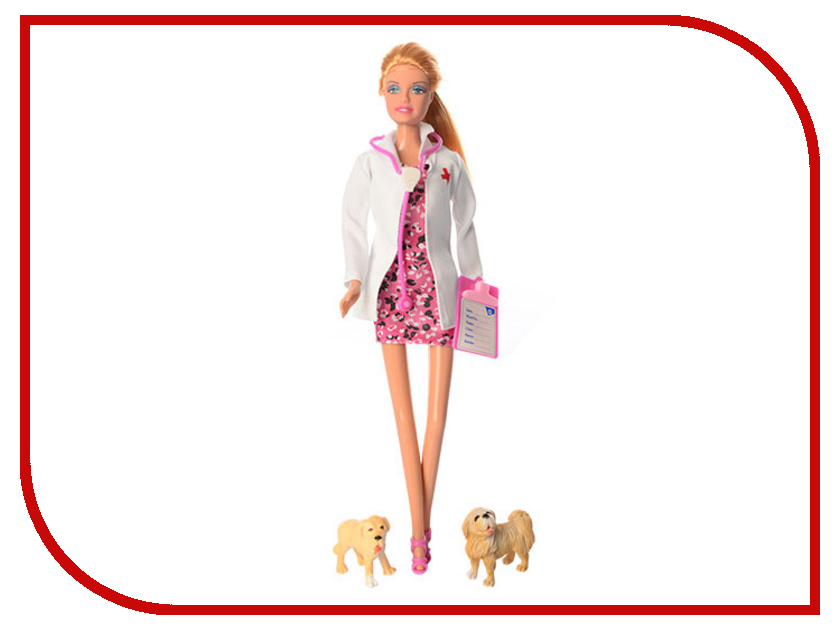 Кукла Defa Lucy Доктор 8346 кукла defa lucy любимый малыш pink 5063pk