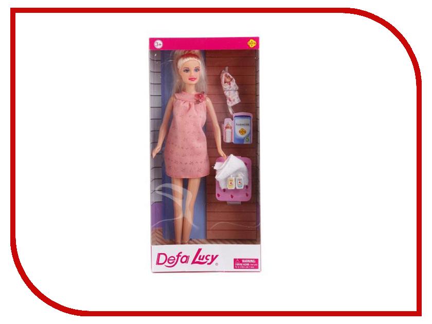 Кукла Defa Lucy Беременная + малыш 8357 кукла defa lucy 6023