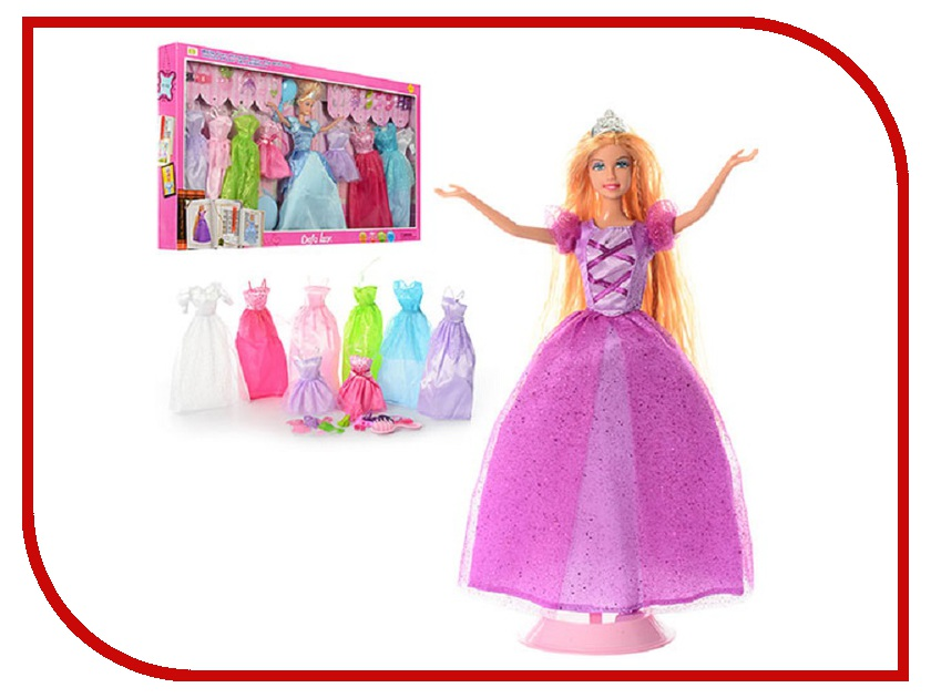 Кукла Defa Lucy с набором одежды 8266 defa набор кукол lucy русалки сестры цвет фиолетовый голубой 2 шт