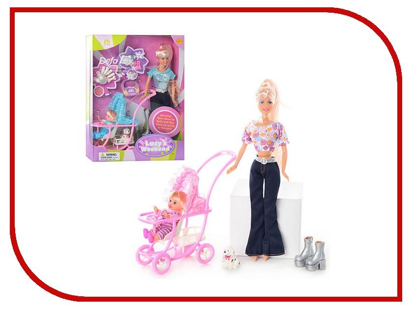 Кукла Defa Lucy Мама + дочка 20958 кукла defa lucy любимый малыш pink 5063pk