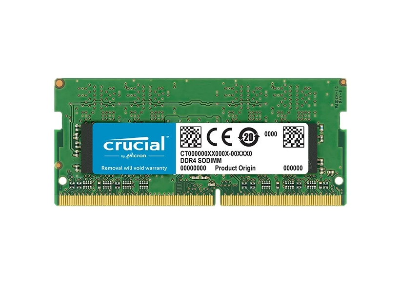 Модуль памяти Crucial DDR4 SO-DIMM 2666MHz PC4-21300 CL19 - 8Gb CT8G4SFS8266 цена