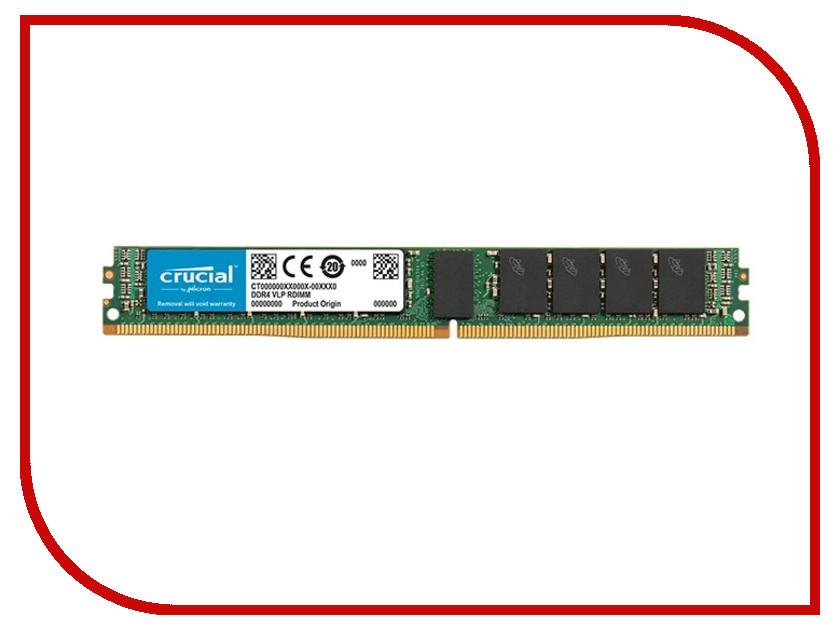 Модуль памяти Crucial DDR4 RDIMM 2666MHz PC4-21300 ECC CL19 - 16Gb CT16G4VFS4266 crucial sodimm ddr4 4gb 2133мгц модуль оперативной памяти