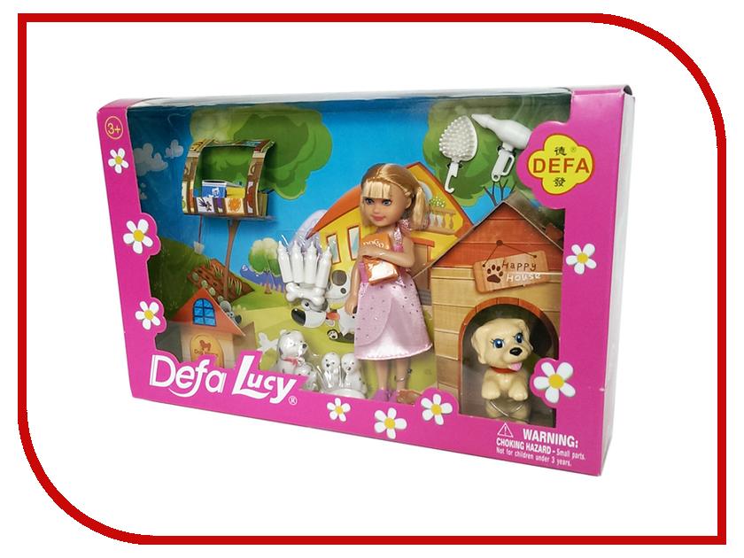 Кукла Defa Lucy 8281 кукла defa lucy модная white light blue 8316bl