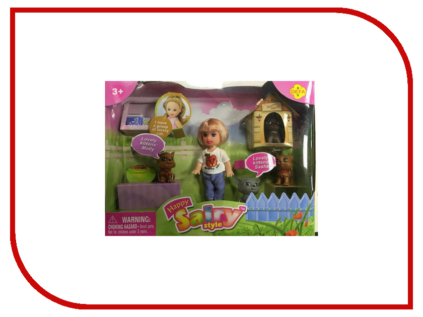 Кукла Defa Lucy 270 / 228984 кукла defa lucy модная white orange 8316st