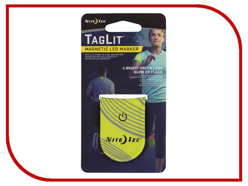 Светоотражатель Nite Ize TagLit Magnetic LED Marker TGL-33-R3 Neon Yellow брелок nite ize keyband it kwb 03 r6 blue