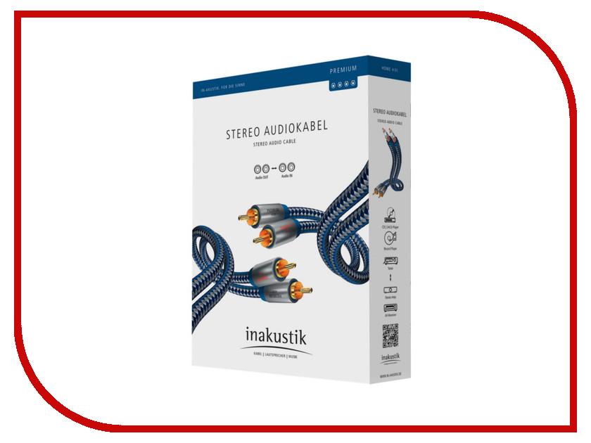 Аксессуар Inakustik Premium Audio Cable RCA 0.75m 00404007