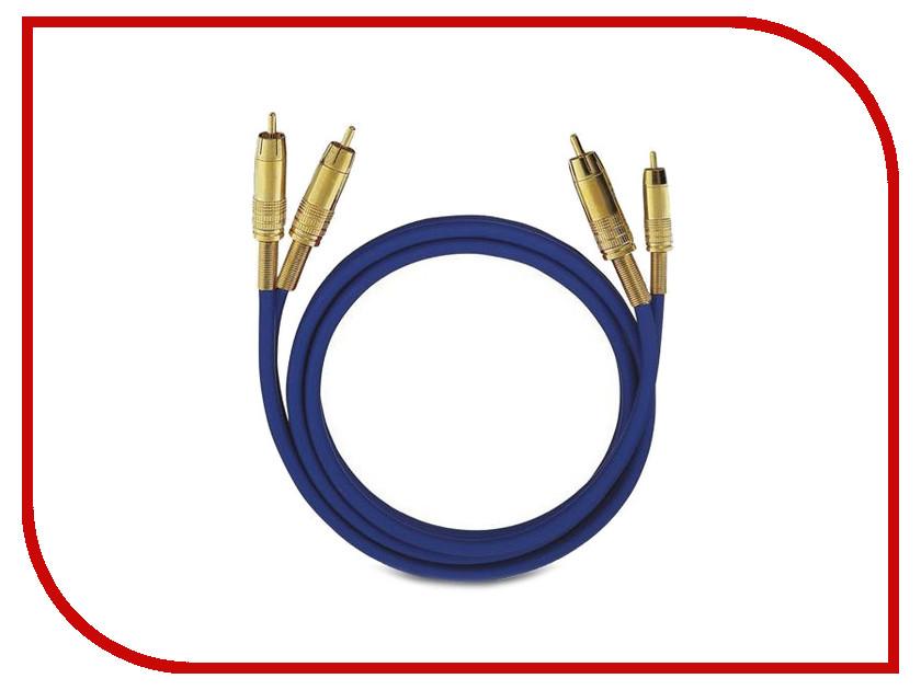 купить Аксессуар Oehlbach NF 1 Master RCA 1m Blue D1C-2032 недорого