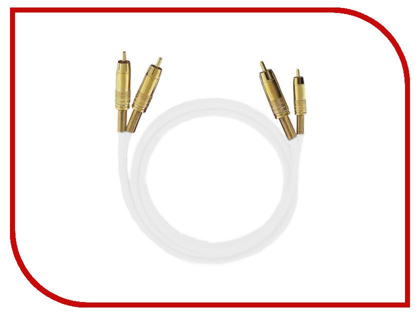 Аксессуар Oehlbach NF 1 Master RCA 1m White D1C-2031